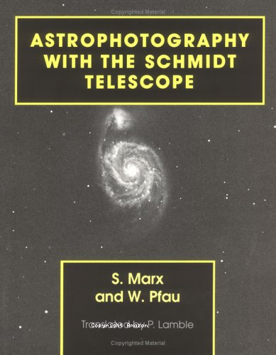 Astrophotography with the Schmidt telescope